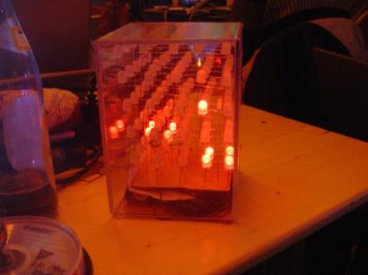 LED Cube / 22C3 / Berlin